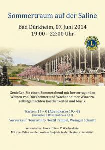 Plakat Sommertraum